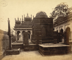 General view of the Maqbaras (royal tombs) of the Junagadh Nawabs, Junagadh 818